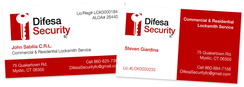 Business card design archives brown bear creative difesa security business cards colourmoves