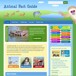 Animal Fact Guide website