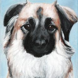 AshleeAcrylic on Canvas