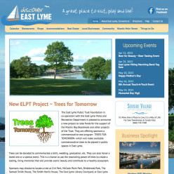 Discover East Lyme website