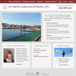 Attorney Lorraine D. Eckert website