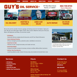 Guy's Oil Service, Inc.Mobile-friendly WordPress websitewww.guysoil.com