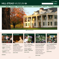 Hill-Stead MuseumMobile-friendly WordPress websitewww.hillstead.org