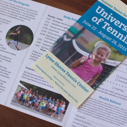 Lyme Shores Tennis & Conditioning CenterUniversity of Tennis Brochure