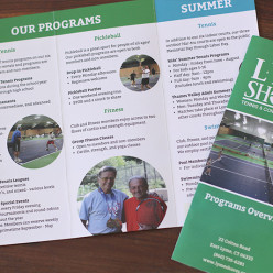 Lyme Shores Tennis & Conditioning CenterPrograms Overview Brochure