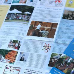 Midsummer Festival brochure
