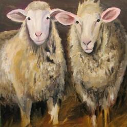 SheepAcrylic on Canvas