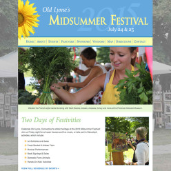 Old Lyme Midsummer Festival website
